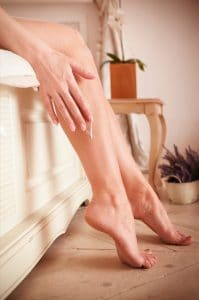 Soft and smooth legs after first skin wax